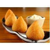 coxinhas fritas congeladas para hotéis em Sapopemba