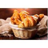 croissants assados congelados para festas no Jardim Europa