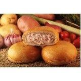 pão de batata assado congelado para buffet no Cambuci
