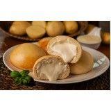 pão de batata congelado para festa na Vila Maria